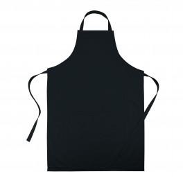 Adjustable apron black